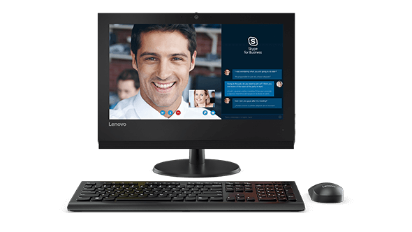 Skype for Business makes video conferencing a breeze on the V310z AIO.