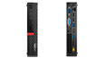Thumbnail of Thumbnail of front and rear view of Lenovo ThinkCentre M920 Tiny