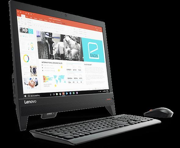Lenovo Ideacentre 310 20iap F0cl001emi Aio Desktop Celeron J3355 4gb 500gb Intel Hd
