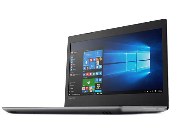 Lenovo Ideapad 320 (14) Front View Featuring Windows 10 Home