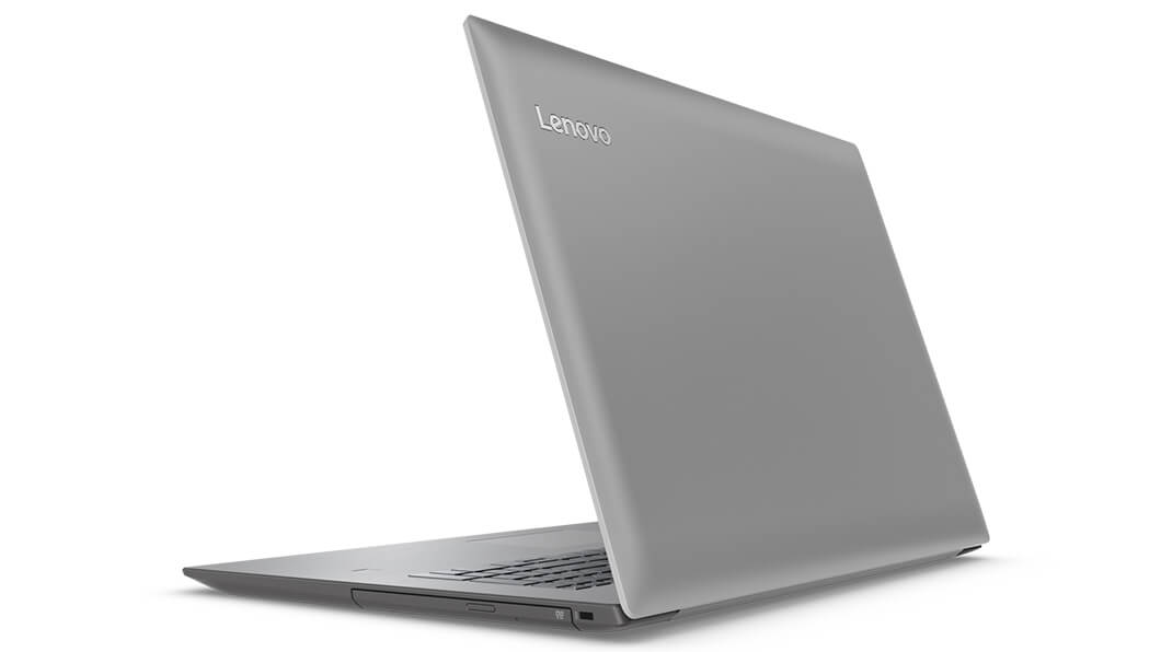 Lenovo Ideapad 320 (17) in Grey, Back Right Side View
