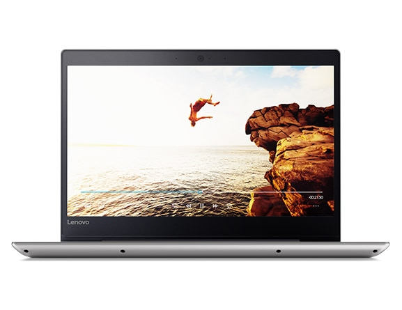 Lenovo Ideapad 320S Front View with Video Playing on Display