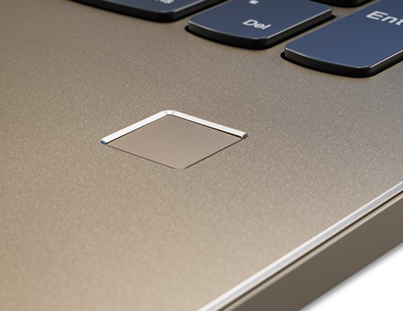 Lenovo Ideapad 520 (15) Fingerprint Reader Detail