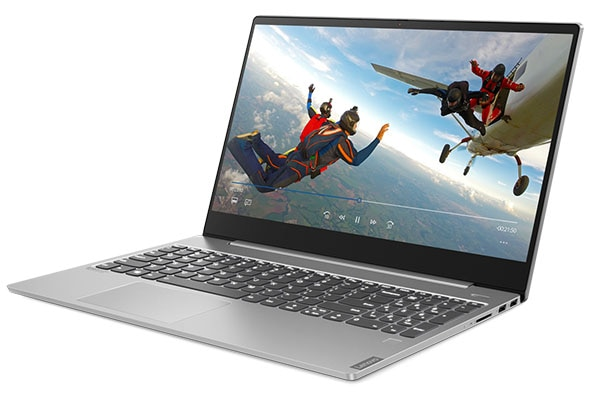 Lenovo IdeaPad S540 (15, Intel) laptop, right front angle view