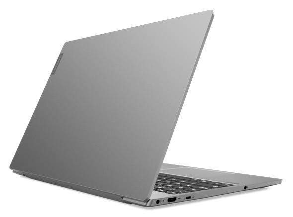 Lenovo IdeaPad S540 (15, Intel) laptop, rear angle view