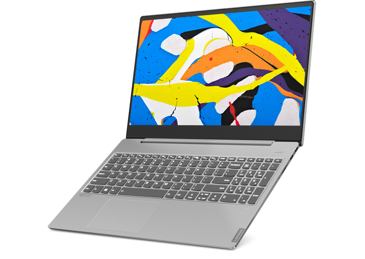 Lenovo IdeaPad S540 (15, Intel) laptop, front angle view