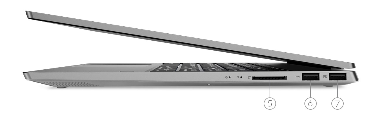 Ideapad D330 Left Side Ports