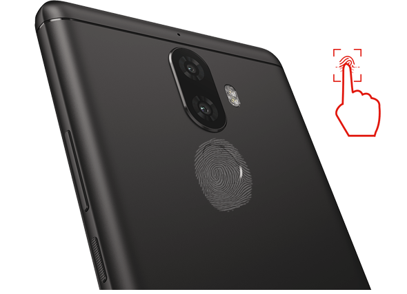 K8 Note - With fingerprint security
