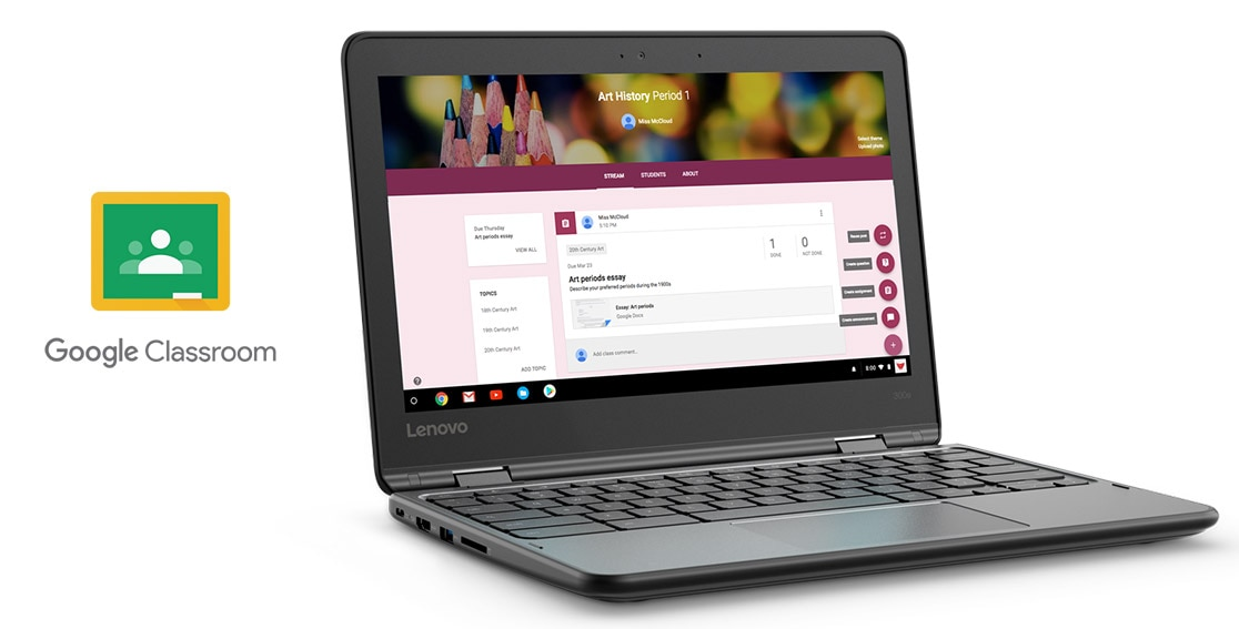 Innovative Features Of Google Classroom ~ Lenovo e versatile in chromebook us