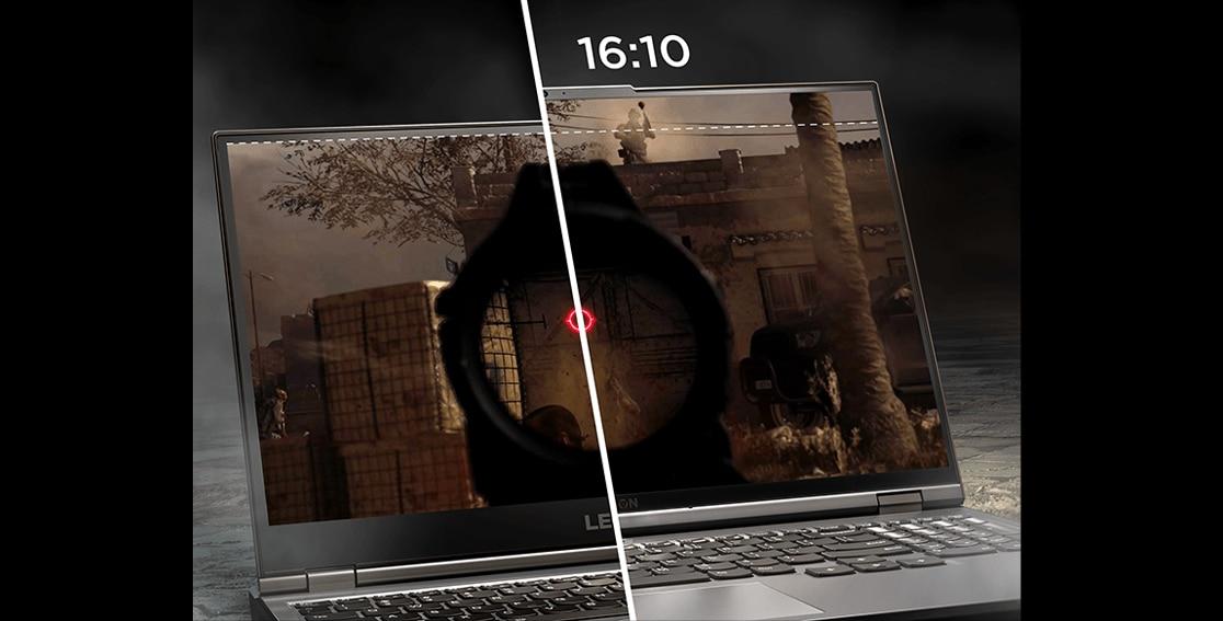 """Lenovo Legion 5 Pro (16 """"AMD), chế độ xem cấu hình bên phải"""