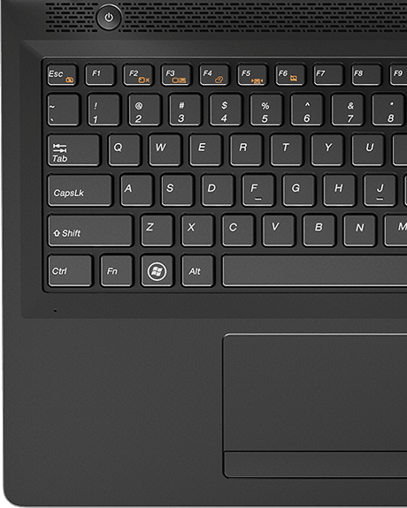 Ideapad 100 (14-inch) Keyboard