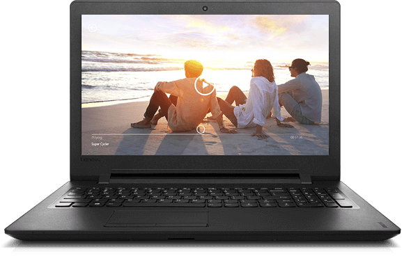 Lenovo Ideapad 110 (15, Intel) Front View