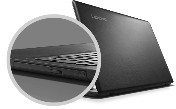 Lenovo Ideapad 110 (15, Intel) Right Side Optional Optical Drive Detail