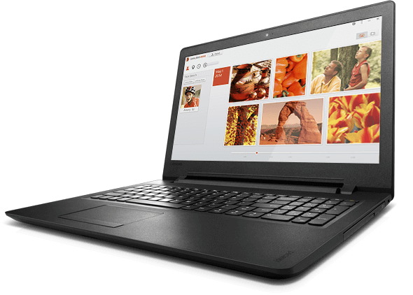 Lenovo Ideapad 110 (15, Intel) Front Right View
