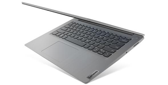 Lenovo IdeaPad 3 (14, AMD) laptop, left angle view