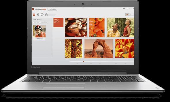 Выбери разрешение дисплея с помощью Lenovo Photo Master