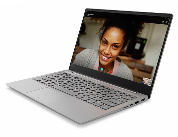 Lenovo Ideapad 320S (14) in Mineral Grey, Front Right Side View