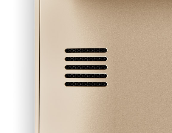 Lenovo Ideapad 320S (13) in Gold, Speaker Detail
