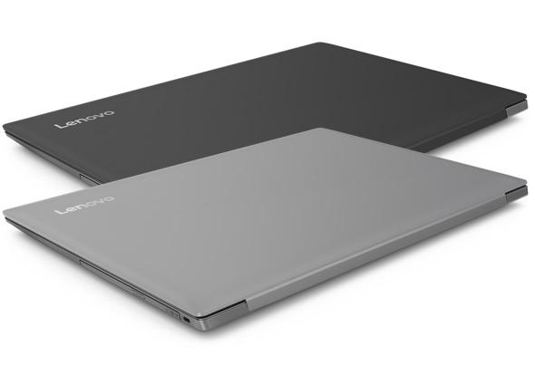 Lenovo Ideapad 330 (17), closed models in grey and black.