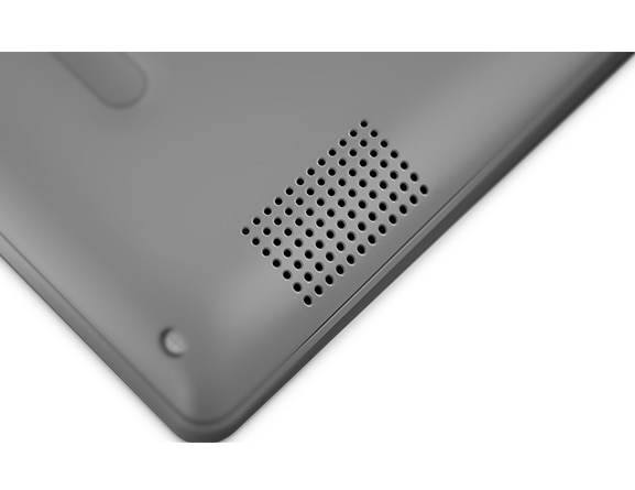 Lenovo Ideapad 330S (14, AMD), closeup of speaker