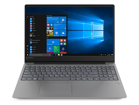 Lenovo Ideapad 330S (15), front view, open, showing display, keyboard, and touchpad.