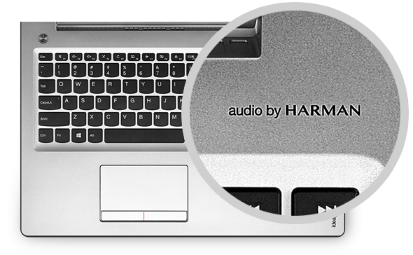 Lenovo Ideapad 510 (15) Audio by Harman