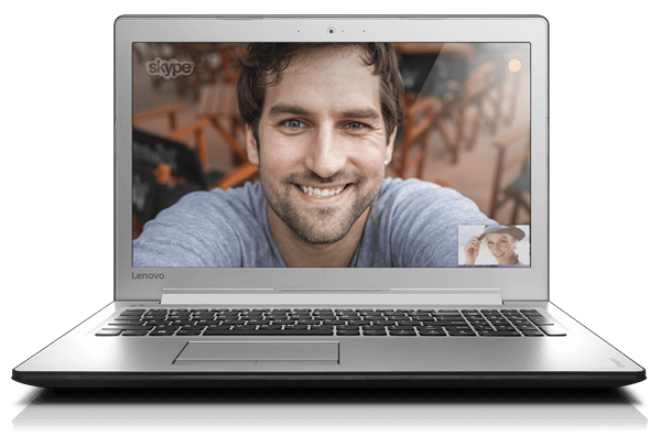 Lenovo Ideapad 510 (15, Intel) Front View