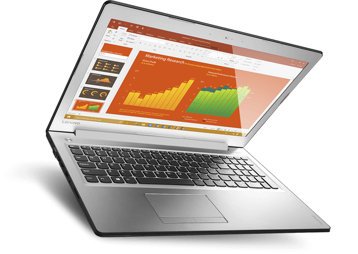 "Lenovo IdeaPad 510 15.6"" FHD Intel Core i5 Laptop"