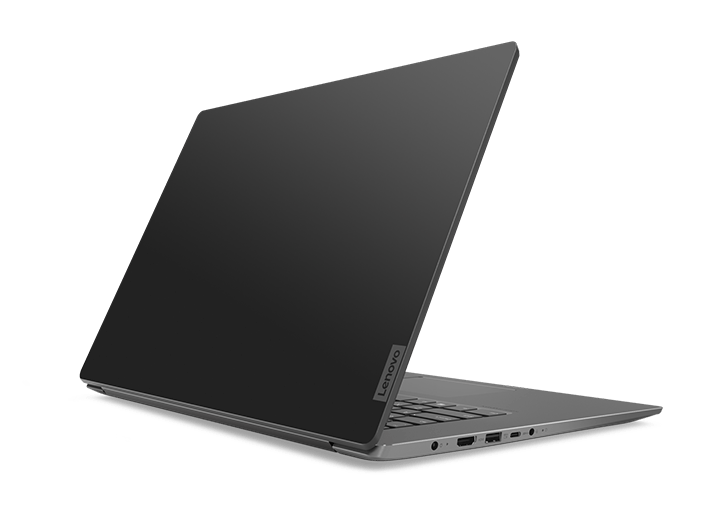 Lenovo Ideapad 530S (15), back left view, open