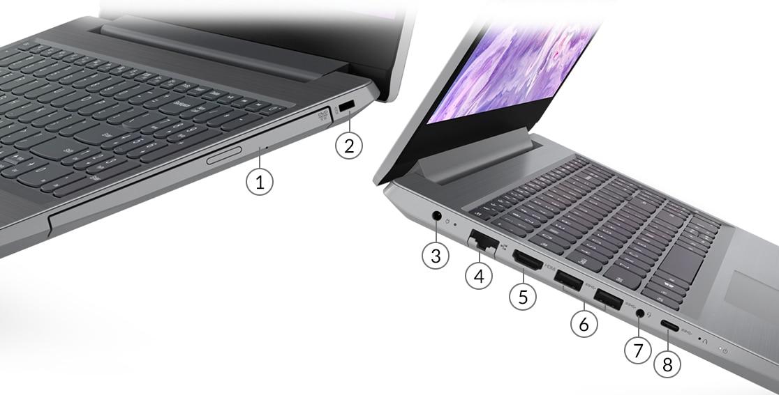 Lenovo IdeaPad L3 Ports