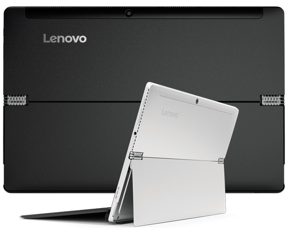 Lenovo Miix 510 back and quarter views