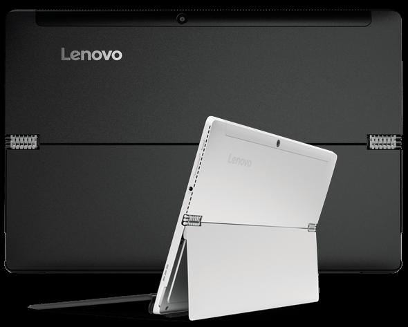 Lenovo Miix 510 back and quarter views