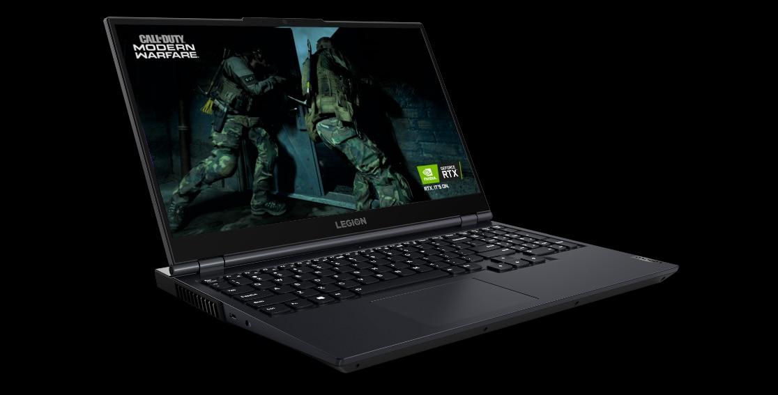 Legion 5 (15″ AMD) Closeup Display High Resolution FHD
