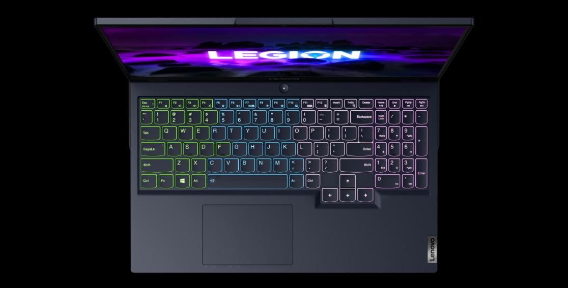 Legion 5 (15″ AMD) Top View