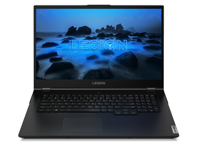 Lenovo Legion 5 17 laptop front view