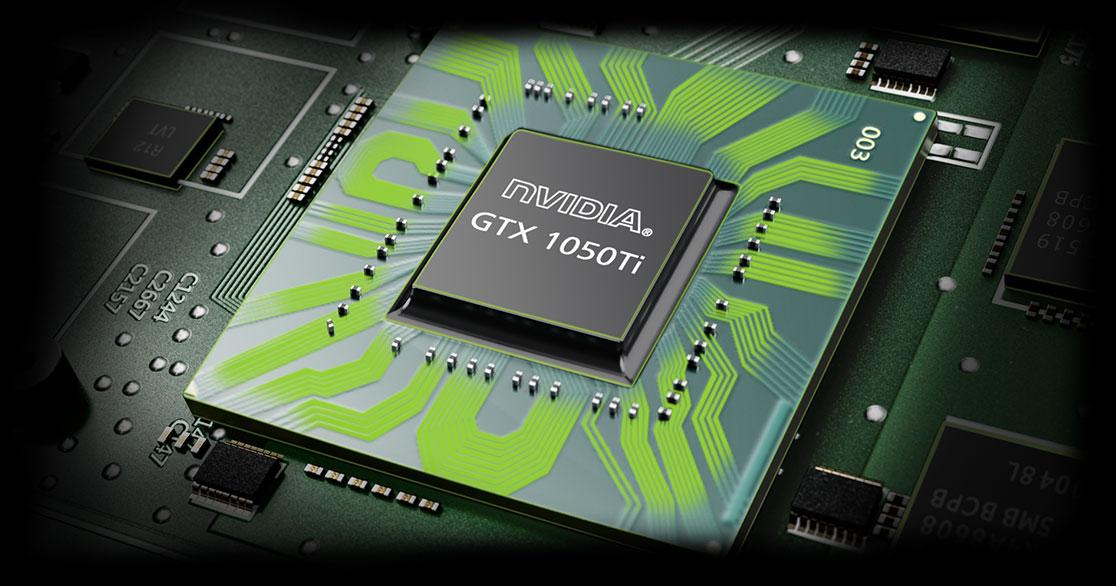 Lenovo Legion Y530 gaming laptop - close shot of gpu