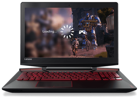 Lenovo Legion Y720 Display Showing Load Screen