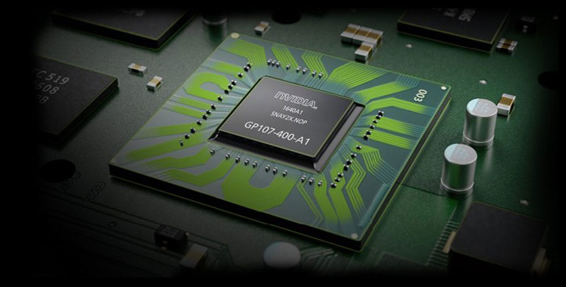 Lenovo Legion Y730 close up view of graphics card