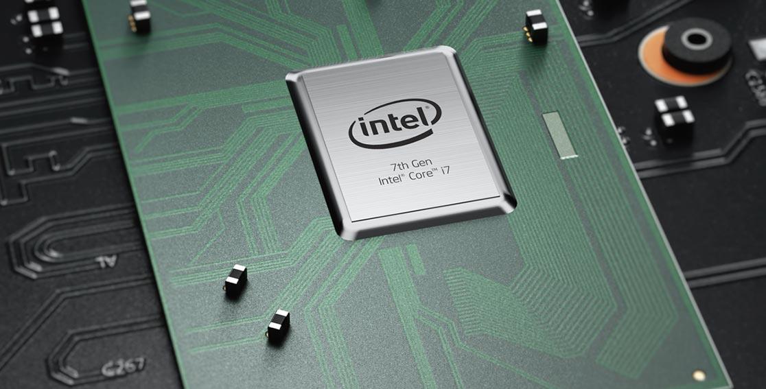 Lenovo Legion Y920 internal motherboard view of intel i7 processor