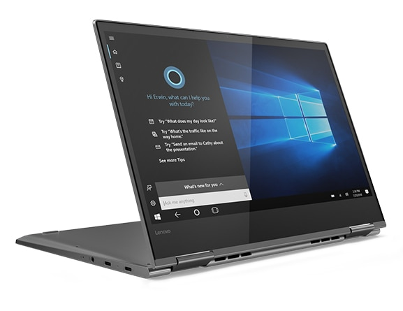 Lenovo Yoga 730 (13) laptop in Stand Mode