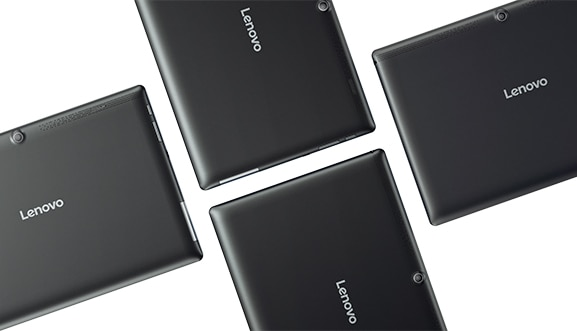 Lenovo Tab 10 Tablet - back views