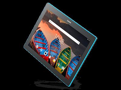 Tablette Lenovo Tab 10 - vue avant en angle