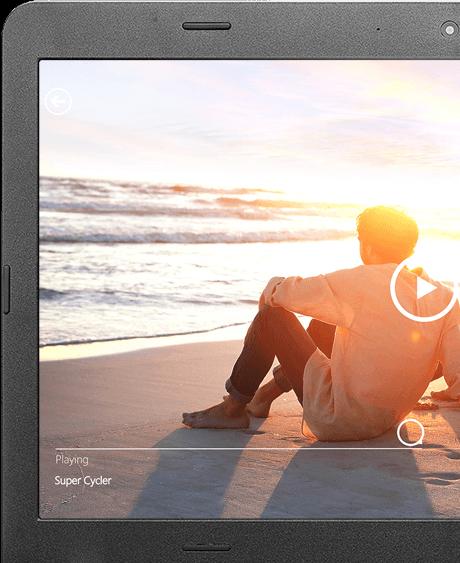 Встроенная веб-камера высокого разрешения 720p и двунаправленные микрофоны с функцией шумоподавления