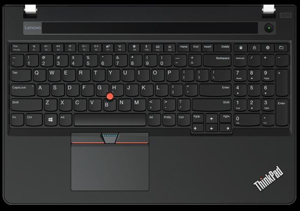 ThinkPad E570: Con un teclado galardonado.