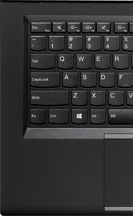 Full-sized, spill-resistant keyboard optimised for Windows 8.1