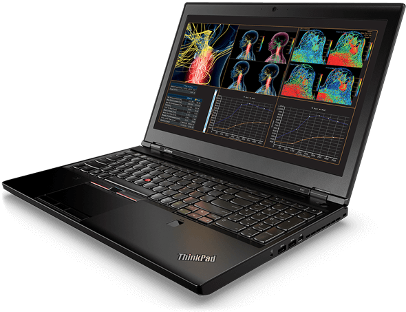 ThinkPad P51 angle view