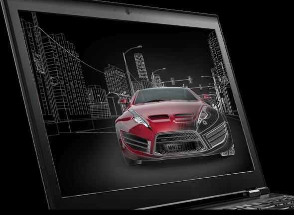 Lenovo ThinkPad P51 Display View