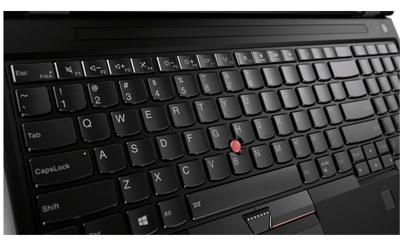 Lenovo ThinkPad P51 Keyboard Detail