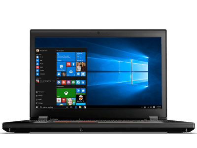 lenovo laptop thinkpad p51 front