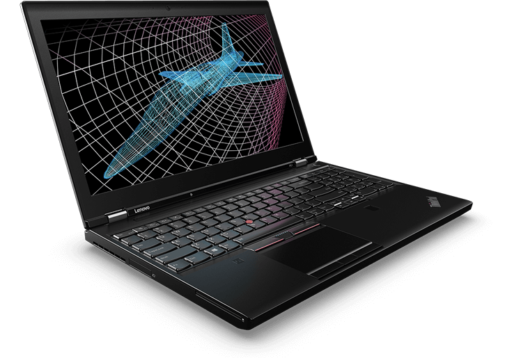 ThinkPad P51 Mobile Workstation angle view
